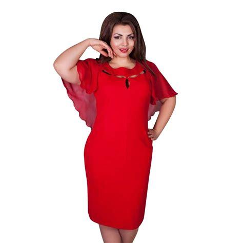 Gaun Jumbo summer hollow out cape dress sleeve clubwear 6xl dresses large size