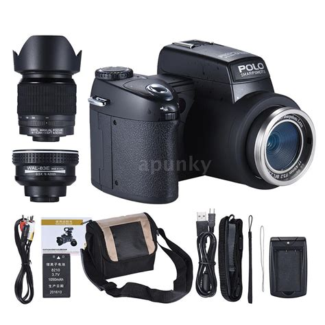Lcd Kamera Canon Dslr polo d7100 ultra hd 33mp 3 quot lcd 24x zoom led digital dslr foto kamera camcorder ebay