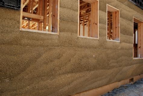 Housse Canapé Interiors by Hempcrete Made From Hemp Used To Build Houses