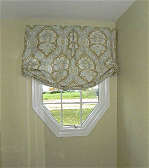 octagon window curtains an octagon window 187 susan s designs