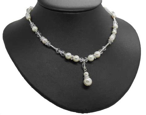 Hochzeit Set Perlen by Brautschmuck Hier Als Set Perlenschmuck