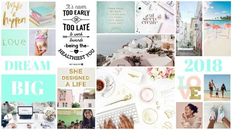 canva vision board how to create a vision board
