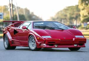Lamborghini Countach Prices 1988 Lamborghini Countach 25th Anniversary