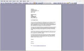 Difference between cover letter and letterhead