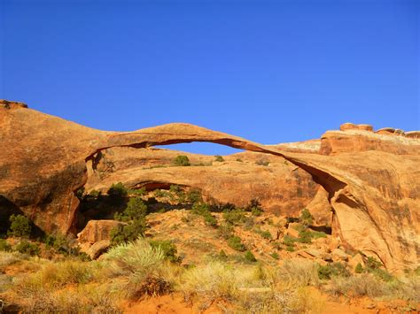 Landscape Arch Hike Arches National Park Part 2 S Garden Tower Arch
