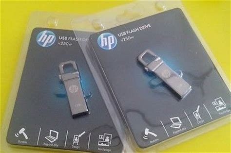 Hp 2 Tb Flash Drive V250w By Visi counterfeit hp capacity usb flash drives collection