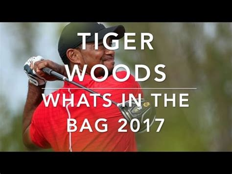 tiger woods whats   bag  youtube