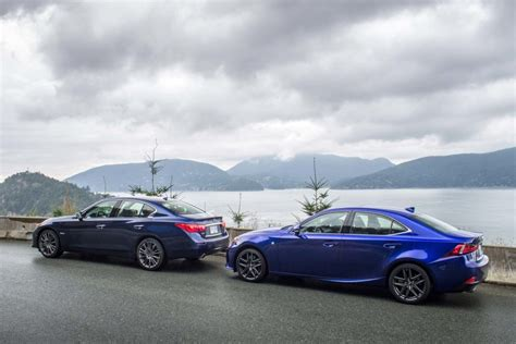 lexus is350 vs infiniti q50 vs lexus is 350 autos post