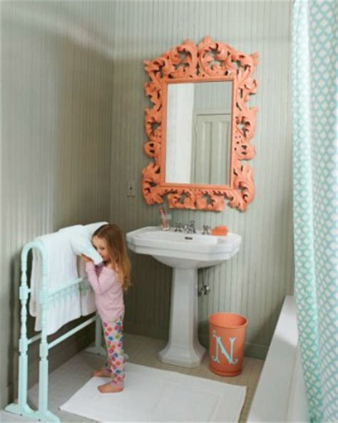 coral bathroom paint hometalk 5 ways to get this look coral and gray