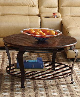 clark copper coffee table clark copper table collection coffee table