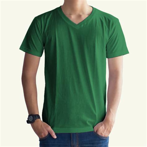 Kaos Polos 30s Hitam Murah Size M Oneck toko jual grosir kaos distro kaos polos hijau fuji v