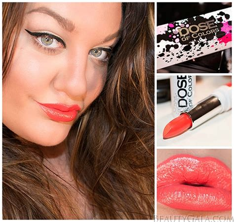 Dose Of Colors Lipstick Karma dose of colors karma lipstick swatches review