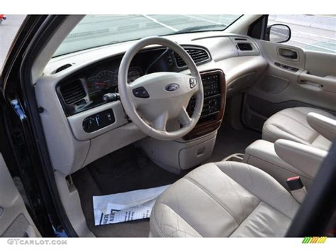 2002 Ford Windstar Interior by Medium Parchment Beige Interior 2002 Ford Windstar Sel