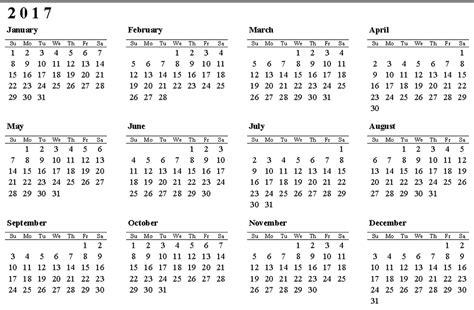 Or 2017 Free Free Printable Calendar 2017 Free Printable Calendar 2017