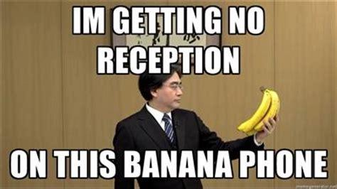Banana Phone Meme - banana phone satoru iwata holding bananas know your meme