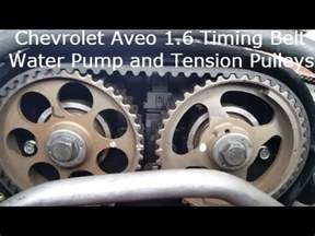 2004 2008 chevrolet aveo timing belt replacement detailed