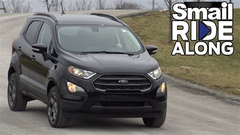ford crossover black 2018 ford ecosport crossover suv review and test drive