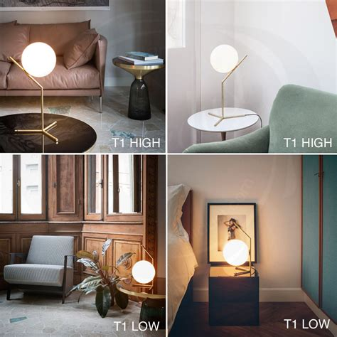 3 Light Floor Lamp Ic T Table Lamp By Flos Lighting Stardust