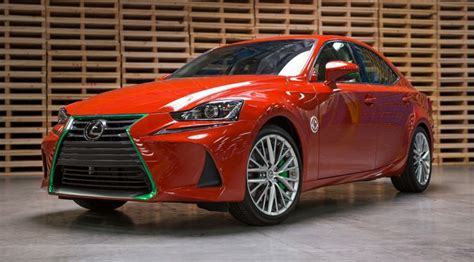 lexus sriracha edition sriracha infused 2017 lexus is is quite literally the