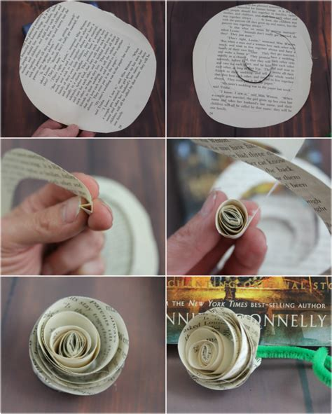 How To Make A Paper Roses In Step By Step - easy diy paper roses beast enchanted craft for
