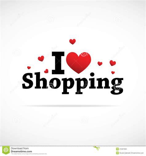 image gallery i love shopping icons i love shopping icon royalty free stock image image