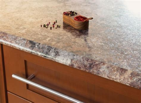 Antique Mascarello Countertop by Idealedge 3466 Antique Mascarello Ogee Kitchen