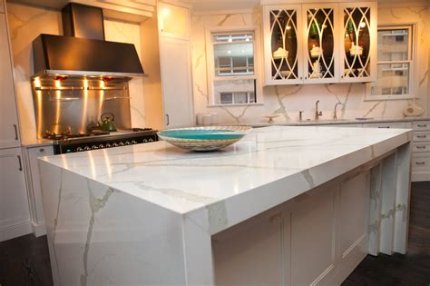 kitchen top vicostone calacatta quartz