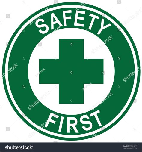 Safety L 163 safety sign stock vector 359016059