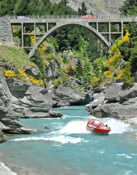 jet boat tour queenstown new zealand seven days in new zealand centsational style