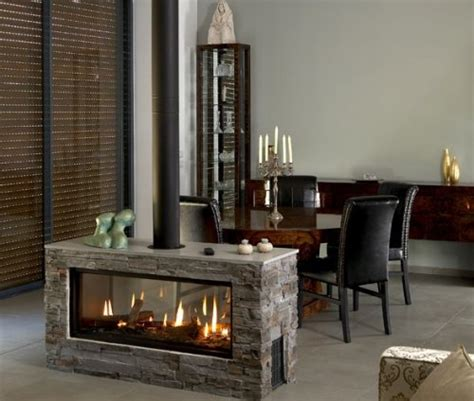 Two Way Fireplaces by Two Way Fireplace By Ortal Peaceful Retreat