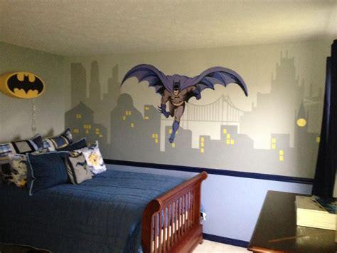 batman themed bedroom pottery barn kids batman theme bedroom ashton s room