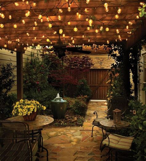 38 Innovative Outdoor Lighting Ideas For Your Garden Outdoor Backyard Lighting Ideas