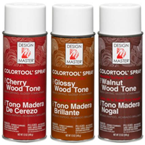 wood tone sprays dm color