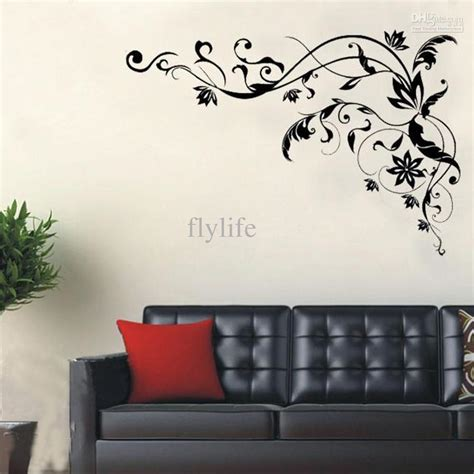 large alphabet wall stickers always forever lettering wall decals home decor black butterfly stickers for living room