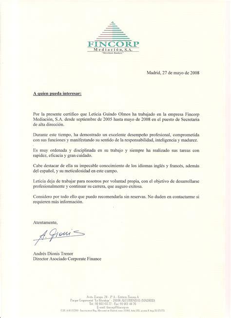Lettre De Recommandation Traduction Espagnol Profil Leticia Guindo Int 233 Rprete Jurado Traductora Profesional Correctora Revisora De