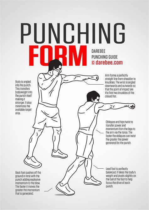 proper punching form punching guide