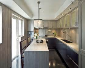 rectangle shaped kitchen design