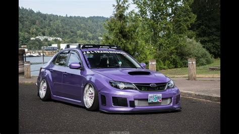 purple subaru purple luis s bagged wrx 4k