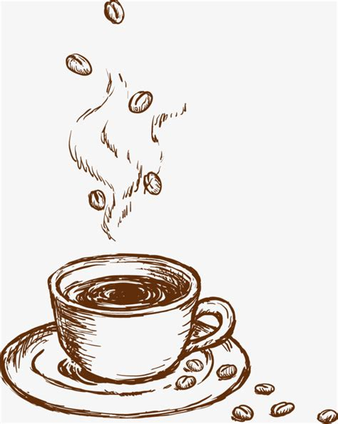decorative art in coffee coffee sketch hand painted decorative pattern coffee