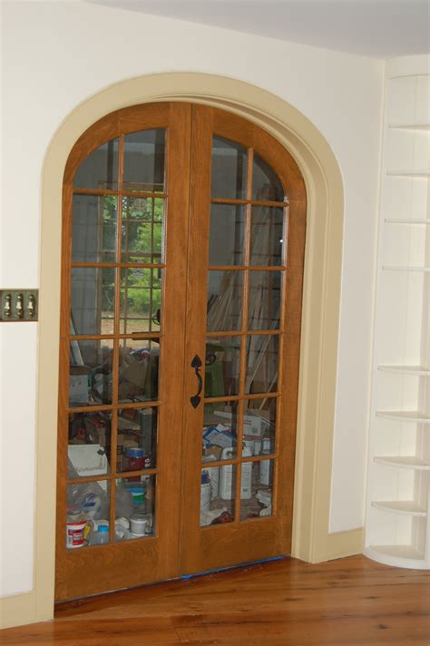 custom built wood exterior doors entryway arch top arch doors arch top interior door units