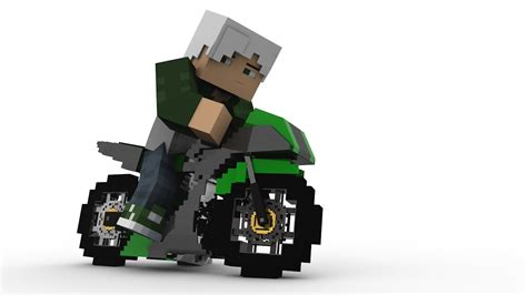 minecraft imac rig cinema 4d anz creations minecraft motorcycle rig cinema 4d youtube