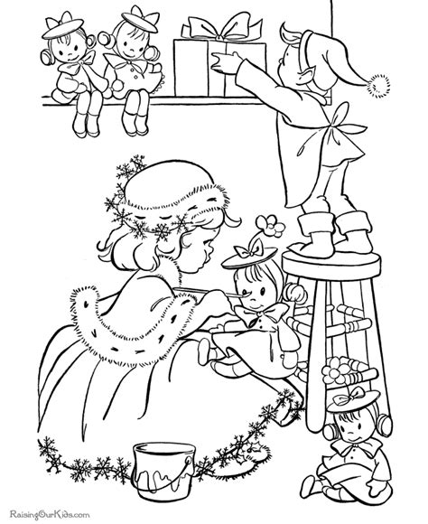 christmas elf coloring pages printable new calendar