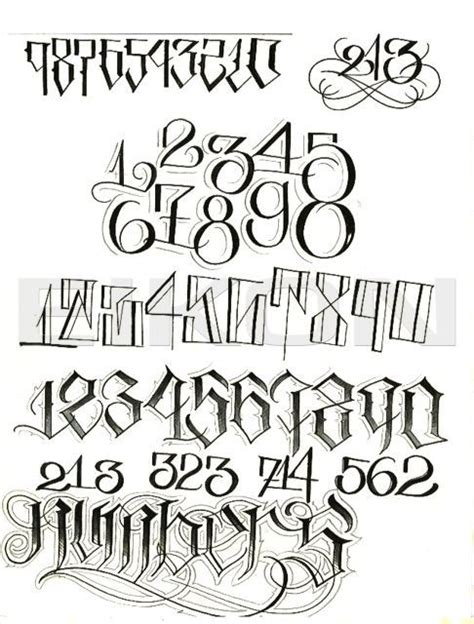 best tattoo font numbers best 25 number fonts for tattoos ideas on pinterest