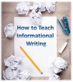 how to teach writing a research paper how to teach informational writing gt eye on education