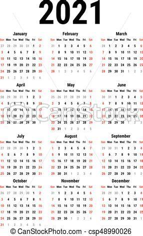 calendario   calendario por  anos en antecedentes blancos la semana empieza el