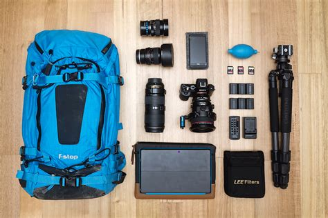 Landscape Photography Gear Inside My Bag Landscape Photographer Gear Chris