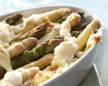 Cuisine ée 50 4734 by Recette Tian D Asperges Blanches Et Vertes Au Parmesan