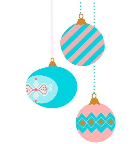 colorful clipart christmas ornament pencil and in color