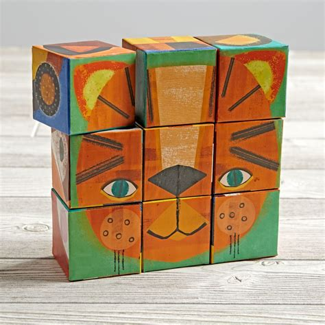 Puzzle Blocks make a puzzle blocks the land of nod
