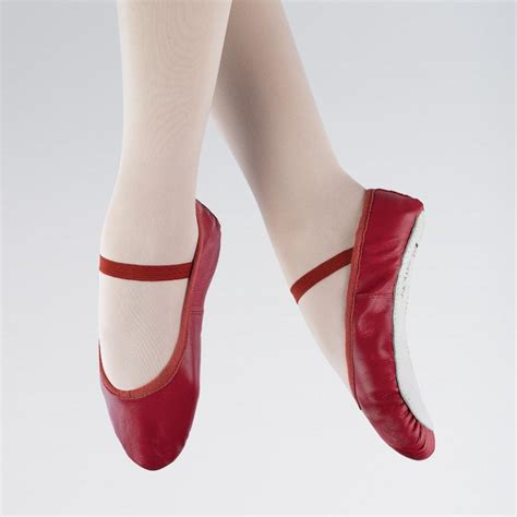 Balet Shoes 1 1st position leather ballet shoes dazzle dancewear ltd